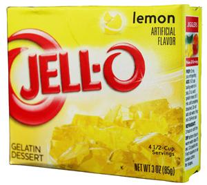 Jell-O- Lemon Götterspeise
