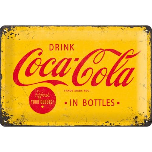 "Blechschild ""Coca Cola Logo"" (20x30cm)"