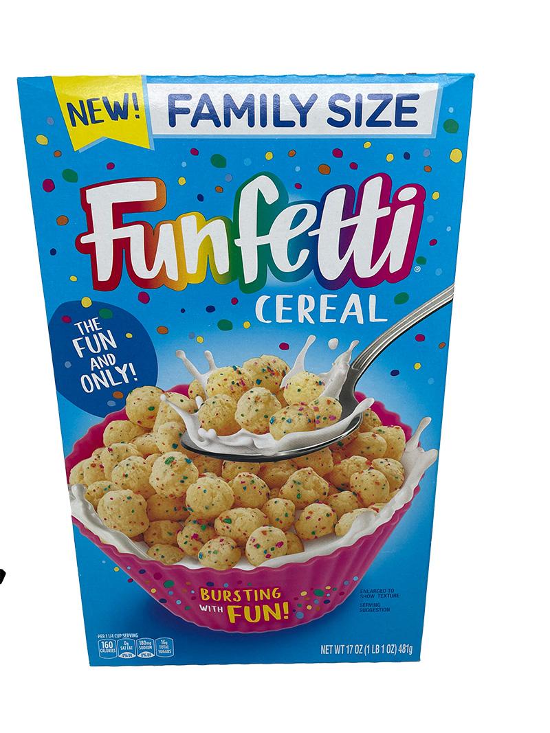 Pillsbury Funfetti Cereal 481 g