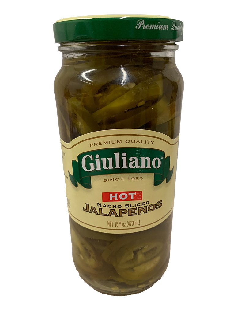 Giuliano Sliced Jalapeno Peppers