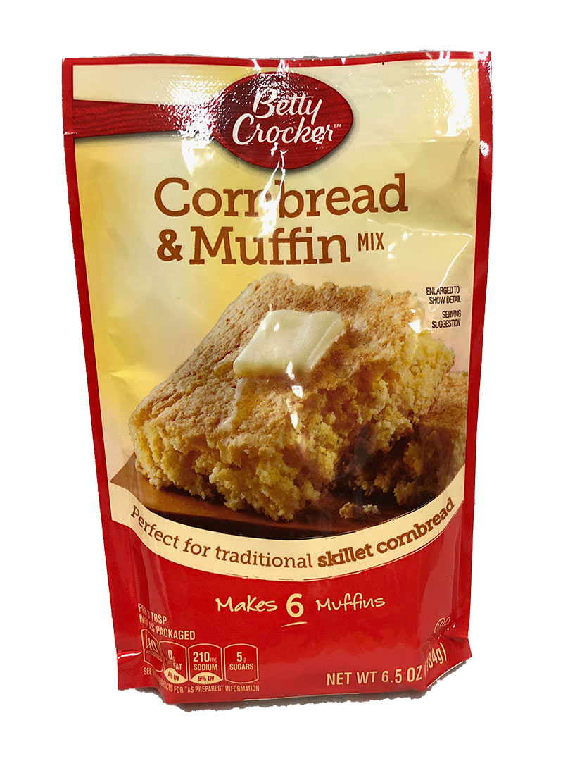 Betty Crocker Cornbread & Muffin Mix (Pouch)