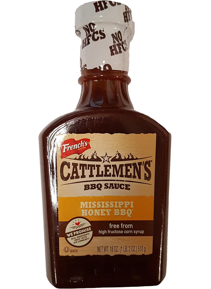 Cattlemen's Mississippi Honey BBQ Sauce 510 g (MHD 05.11.20)