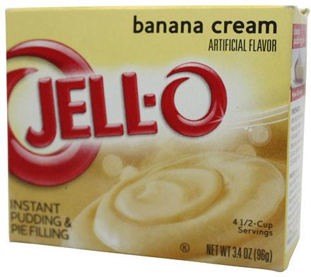 Jell-O- Banana Cream Pudding