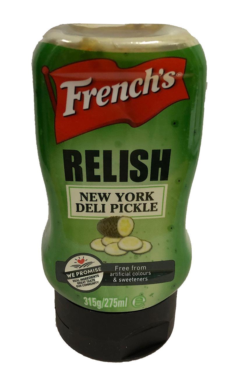 French's New York Deli Pickle Relish