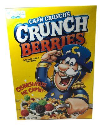 Quaker Capn Crunch Berry 370 Gramm ( MHD 31.08.21 )