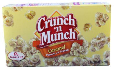 Crunch & Munch Caramel Popcorn with Peanuts (MHD 18.09.2021)