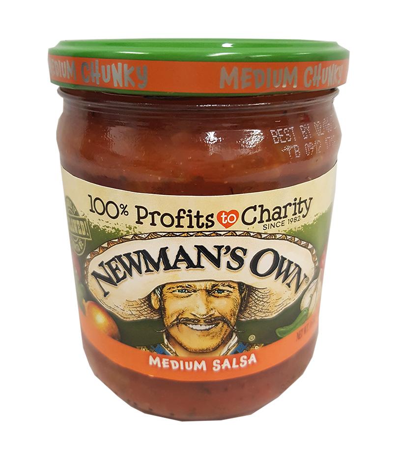 Newmans Own Medium Chunky Salsa