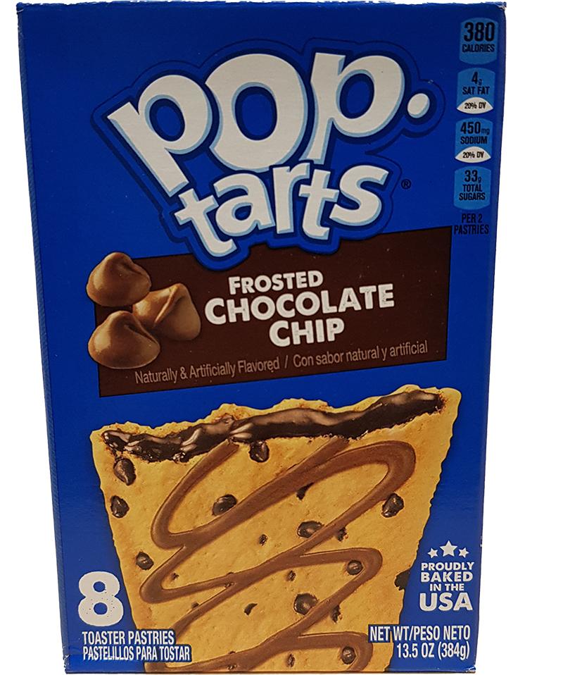 Kelloggs Poptarts Chocolate Chip