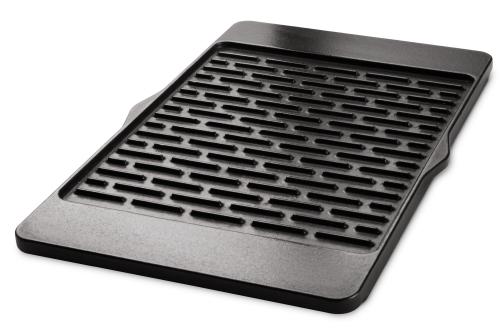 Gusseiserne Wendeplatte für Spirit, Genesis 310, 320, One -Touch 57 cm, Platinum, Smokefire