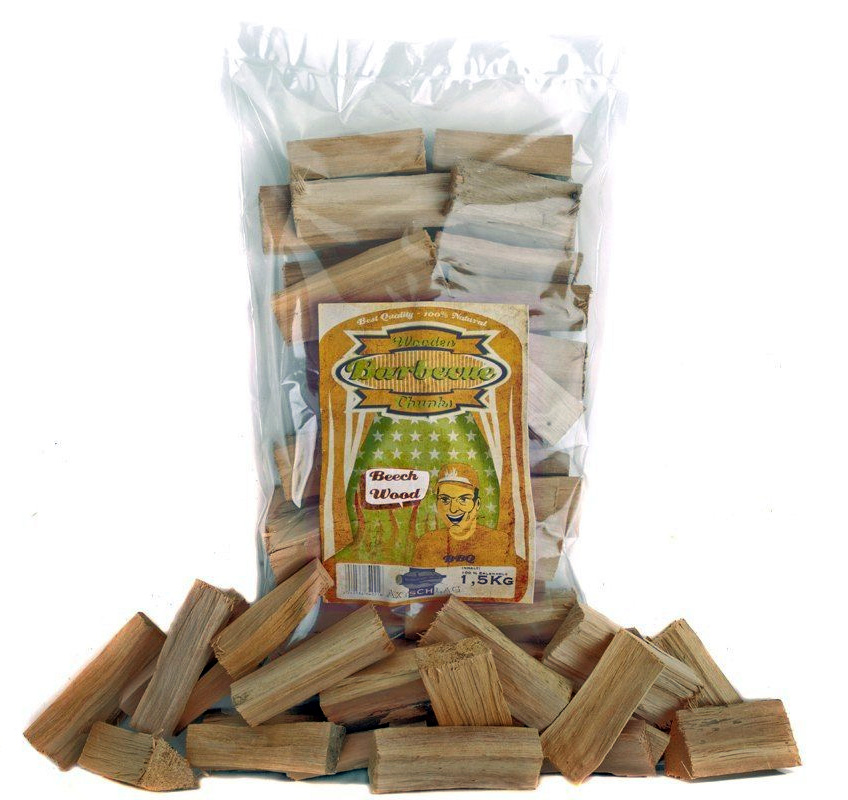 Axtschlag Wood Chunks Buche 1,5 kg