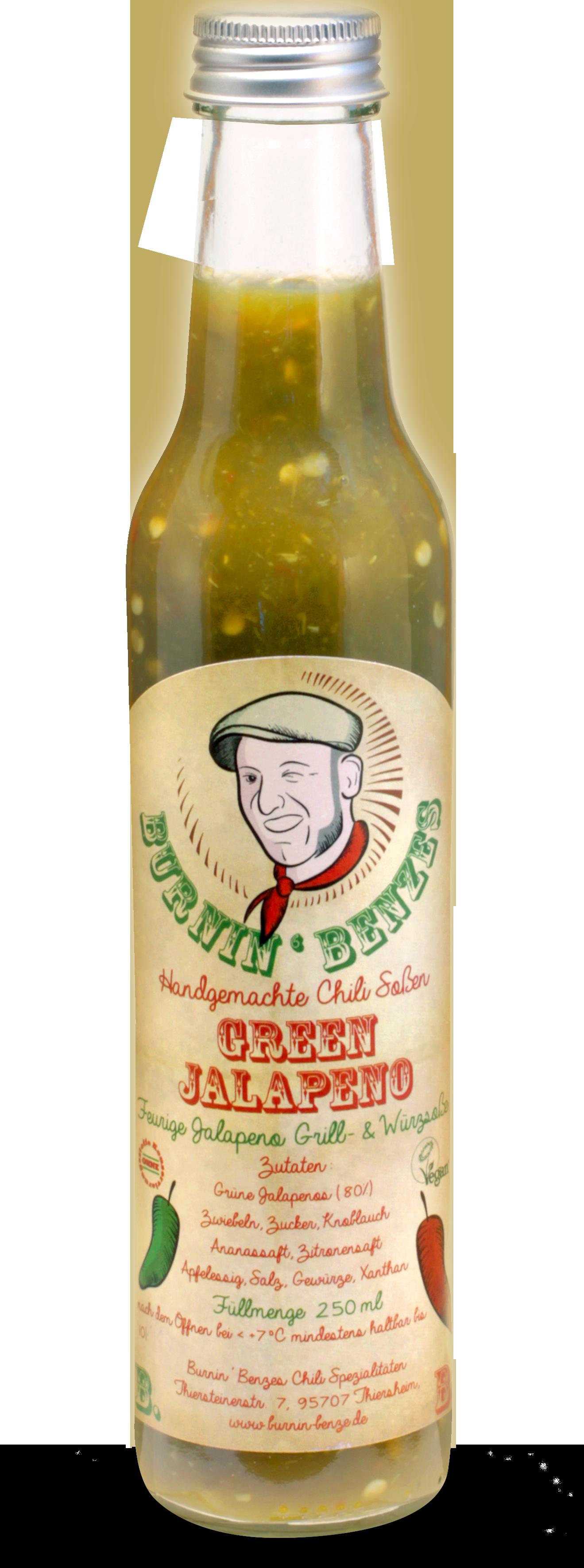 Burnin' Benzes Green Jalapeno