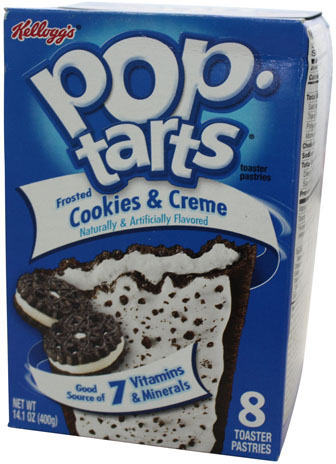 Kelloggs Poptarts Frosted Cookies & Creme