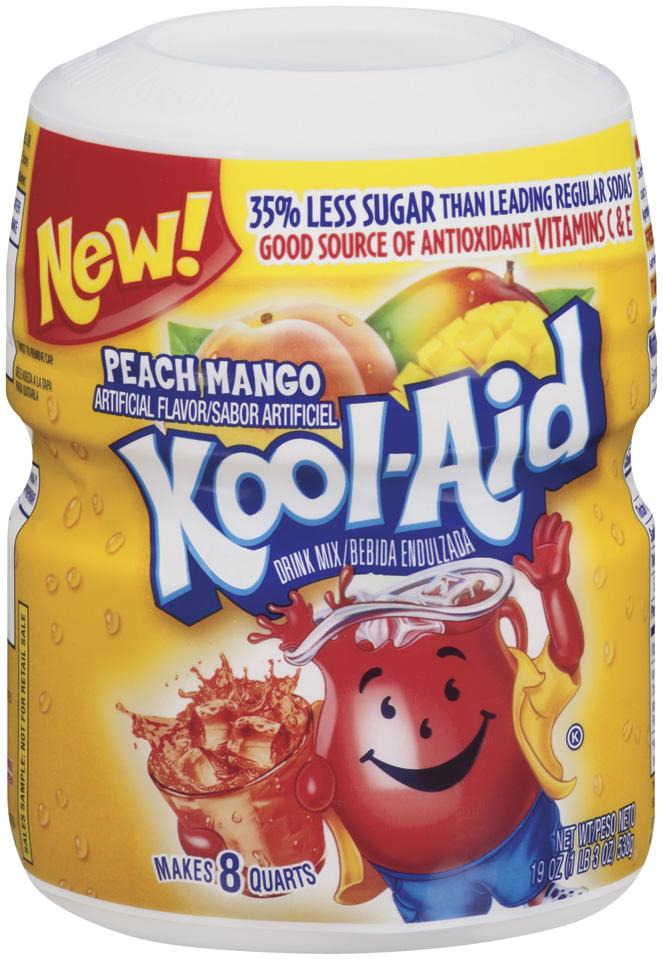 Kool Aid Barrel Peach Mango