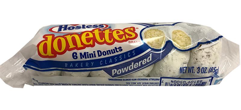 Hostess Powdered Donettes - einzeln