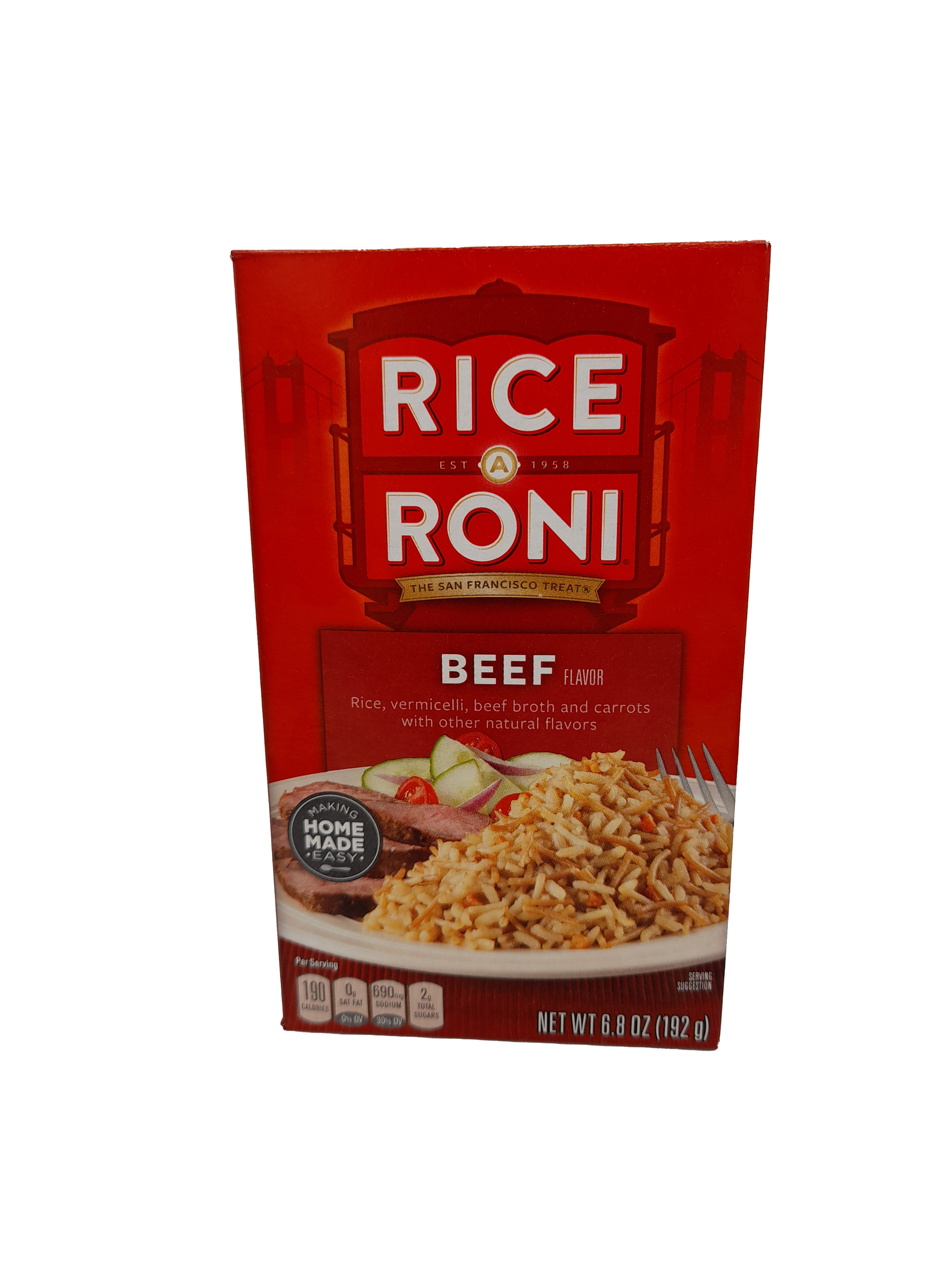 Rice A Roni Beef Flavor 192g