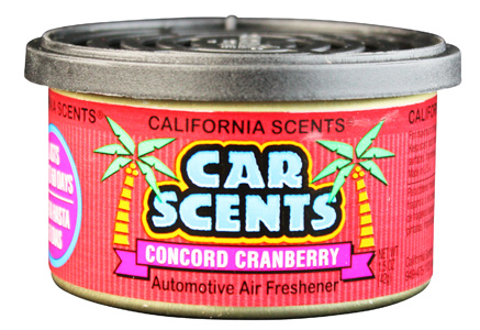 California Scents Car Scents Concord Cranberry