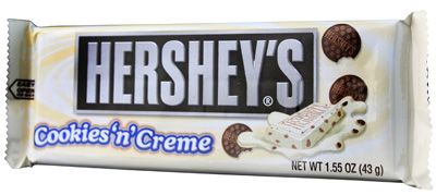 Hershey Cookies & Creme