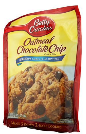 Betty Crocker Oatmeal Chocolate Chip Cookie Mix