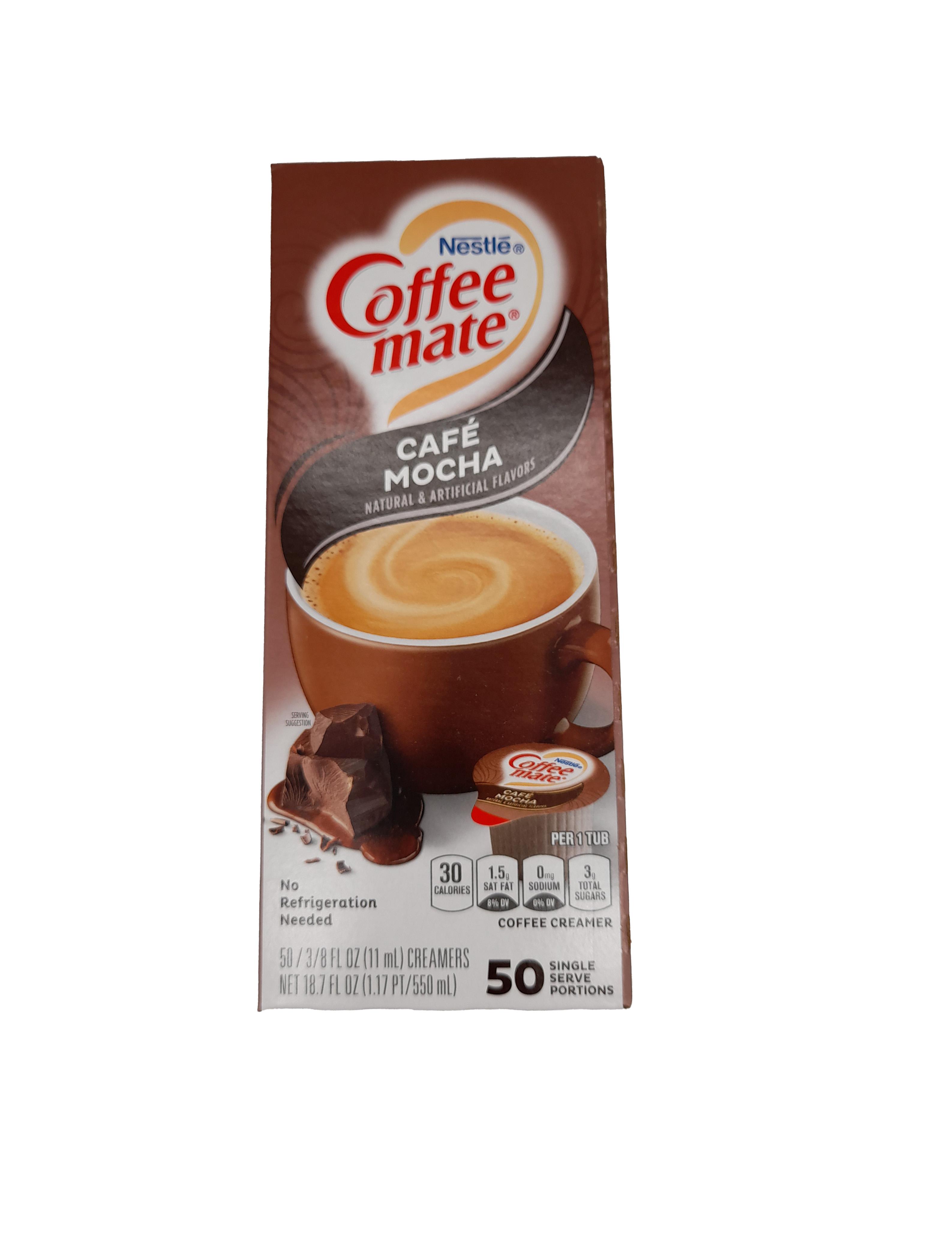 Nestle Coffee Mate Liquid Café Mocha Coffee Creamer 50x11ml (550ml)