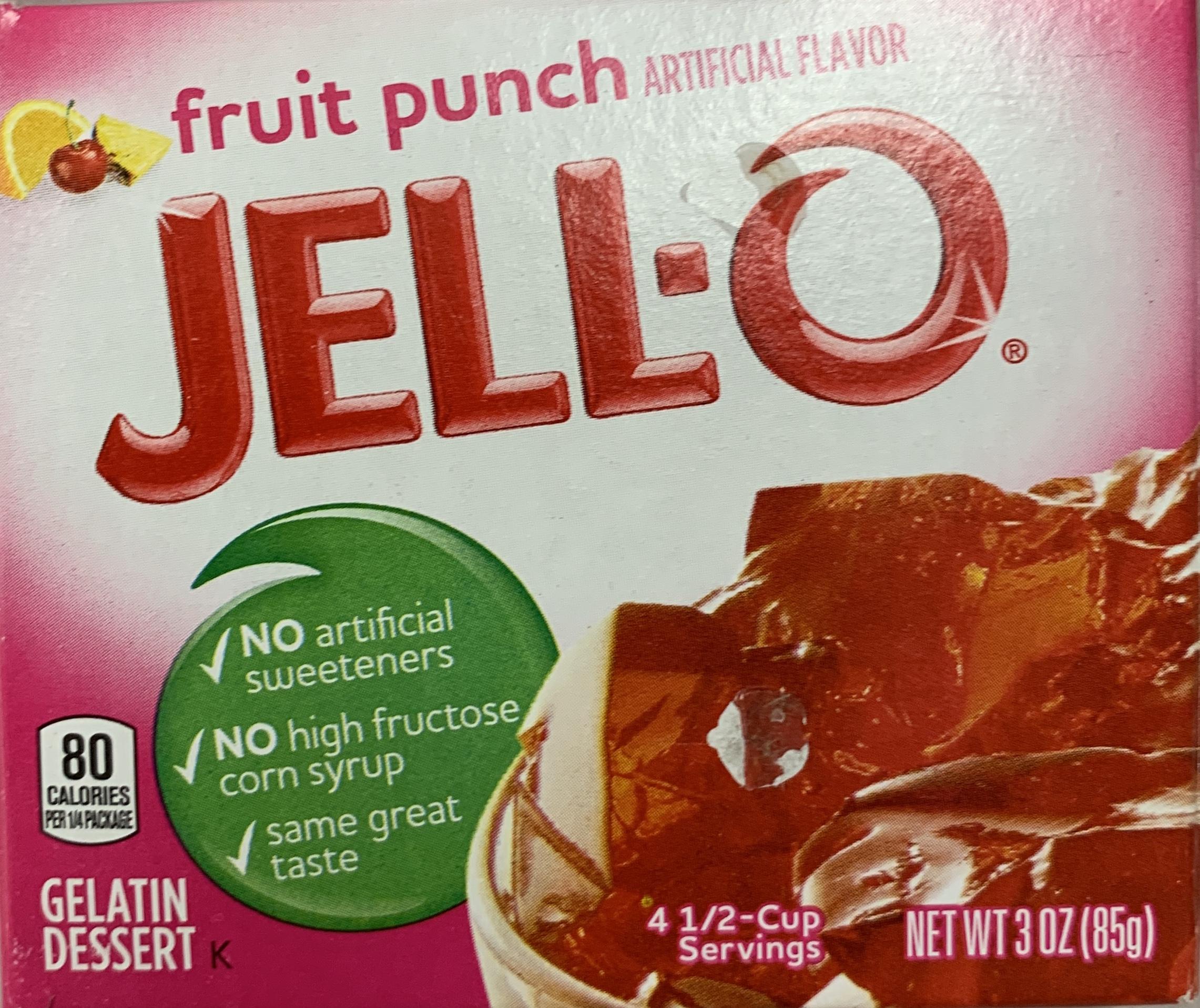 Jell-O Fruit Punch