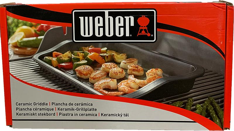 Weber Keramik - Grillplatte
