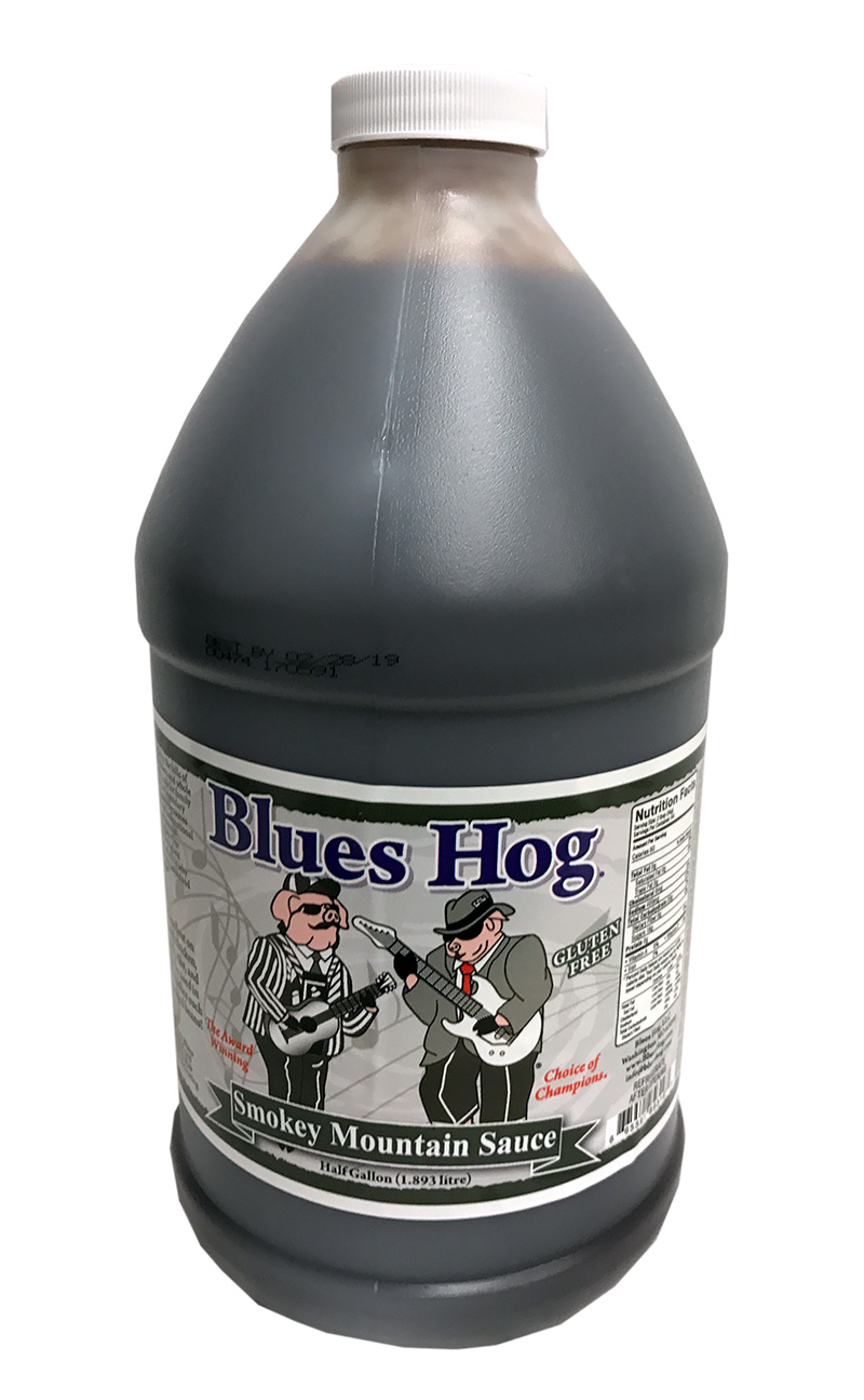 Original Blues Hog Smokey Mountain Sauce (Half Gallon 1,89 l)