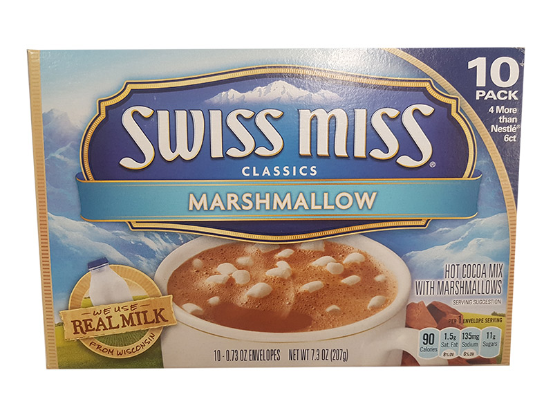 Swiss Miss Marshmallow Flavor