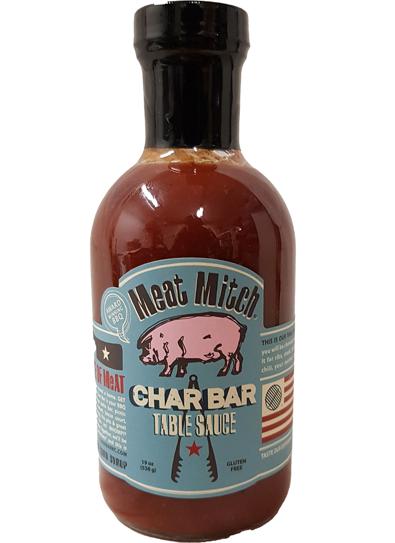 Meat Mitch CharBar Table BBQ Sauce