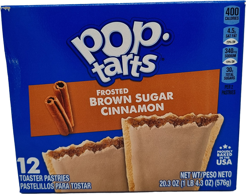 Kelloggs Poptarts Frosted Brown Sugar Cinnamon (12er Pack)