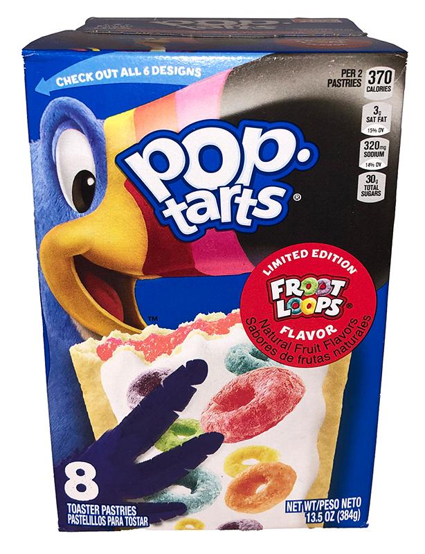 Kelloggs Poptarts Froot Loops