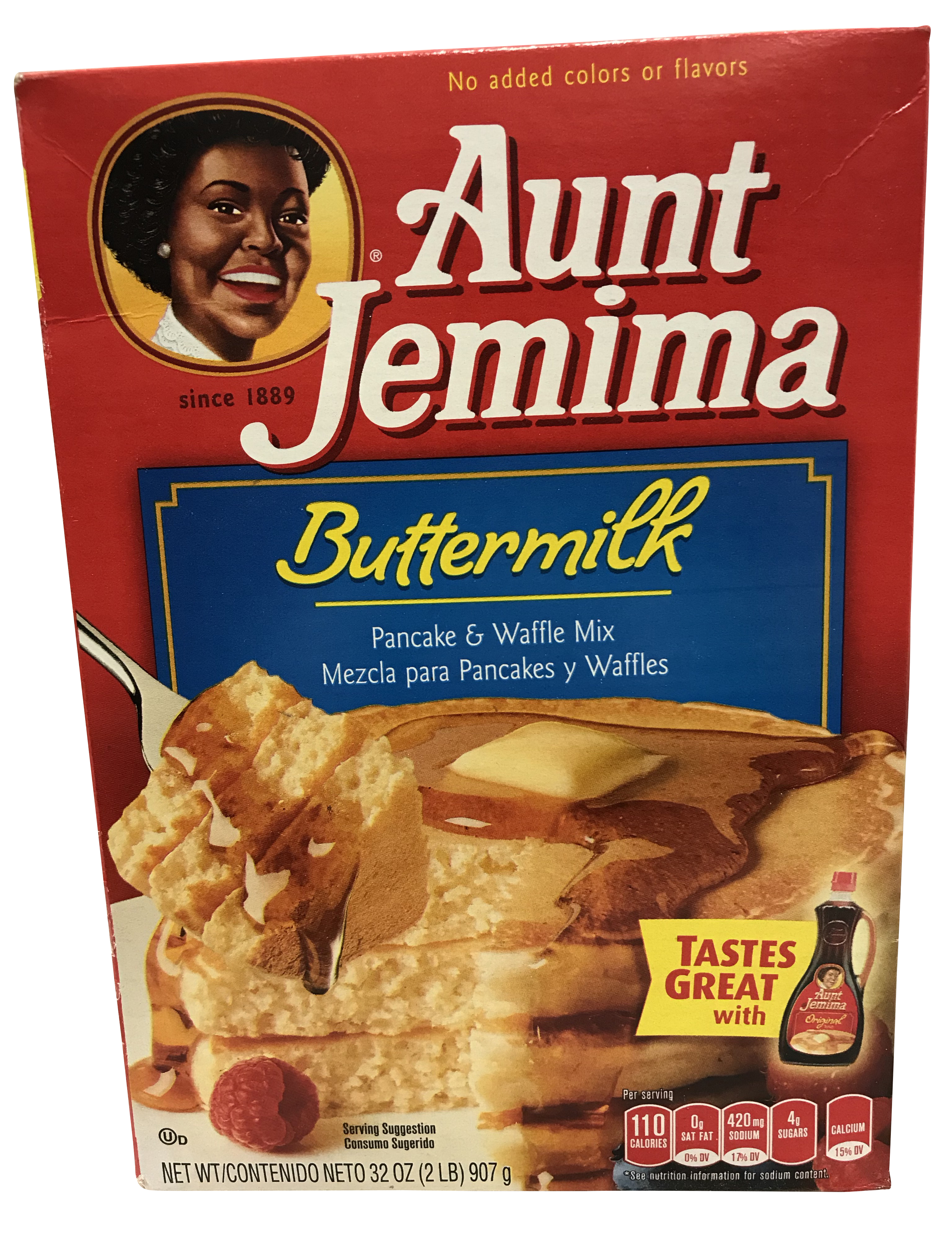 Aunt Jemima Buttermilk Pancake Mix 907g