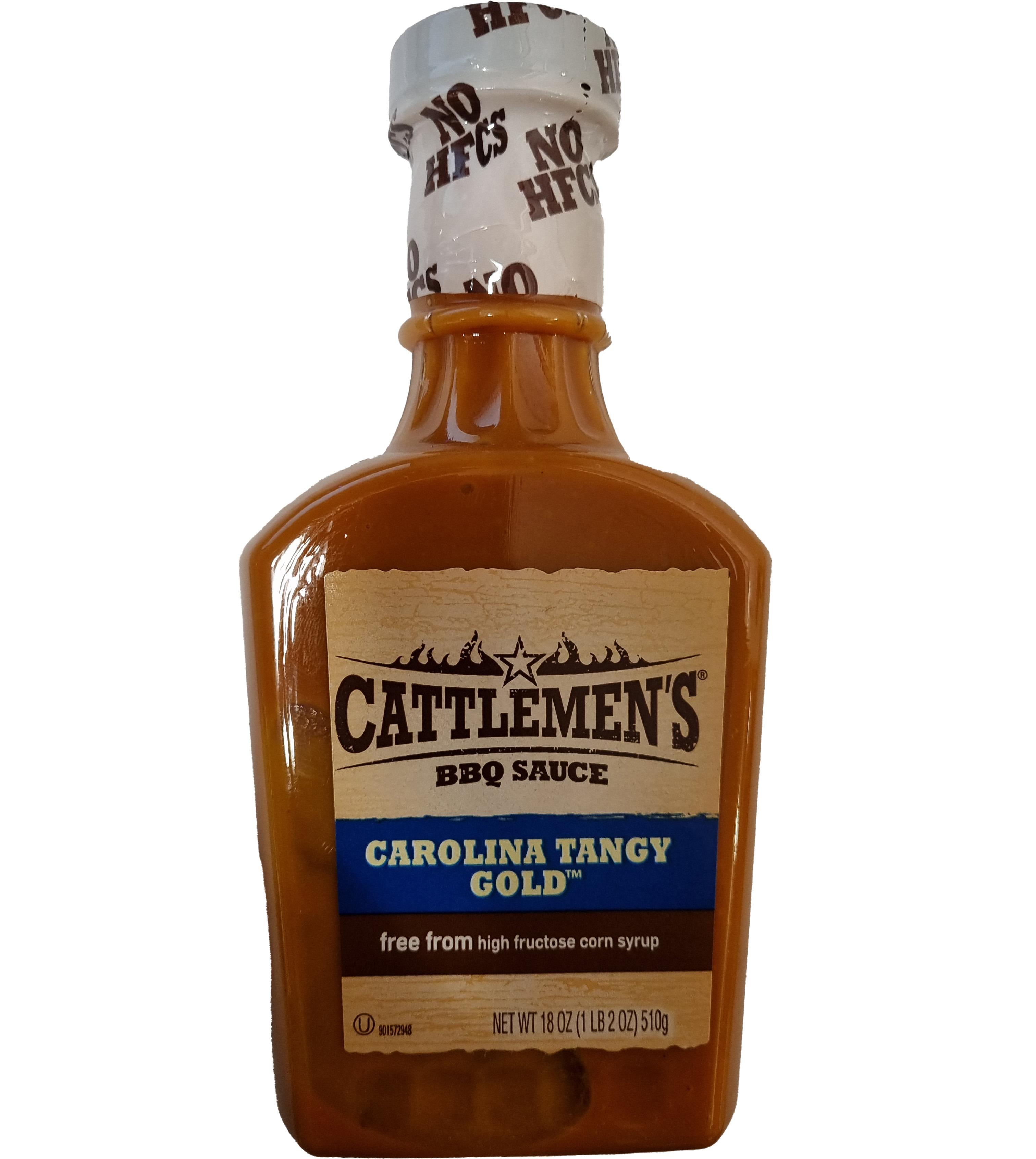 Cattlemen's Carolina Tangy Gold BBQ Sauce 510 g (MHD 18.04.21)