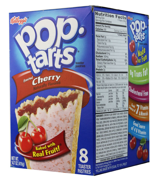 Kelloggs Poptarts Frosted Cherry