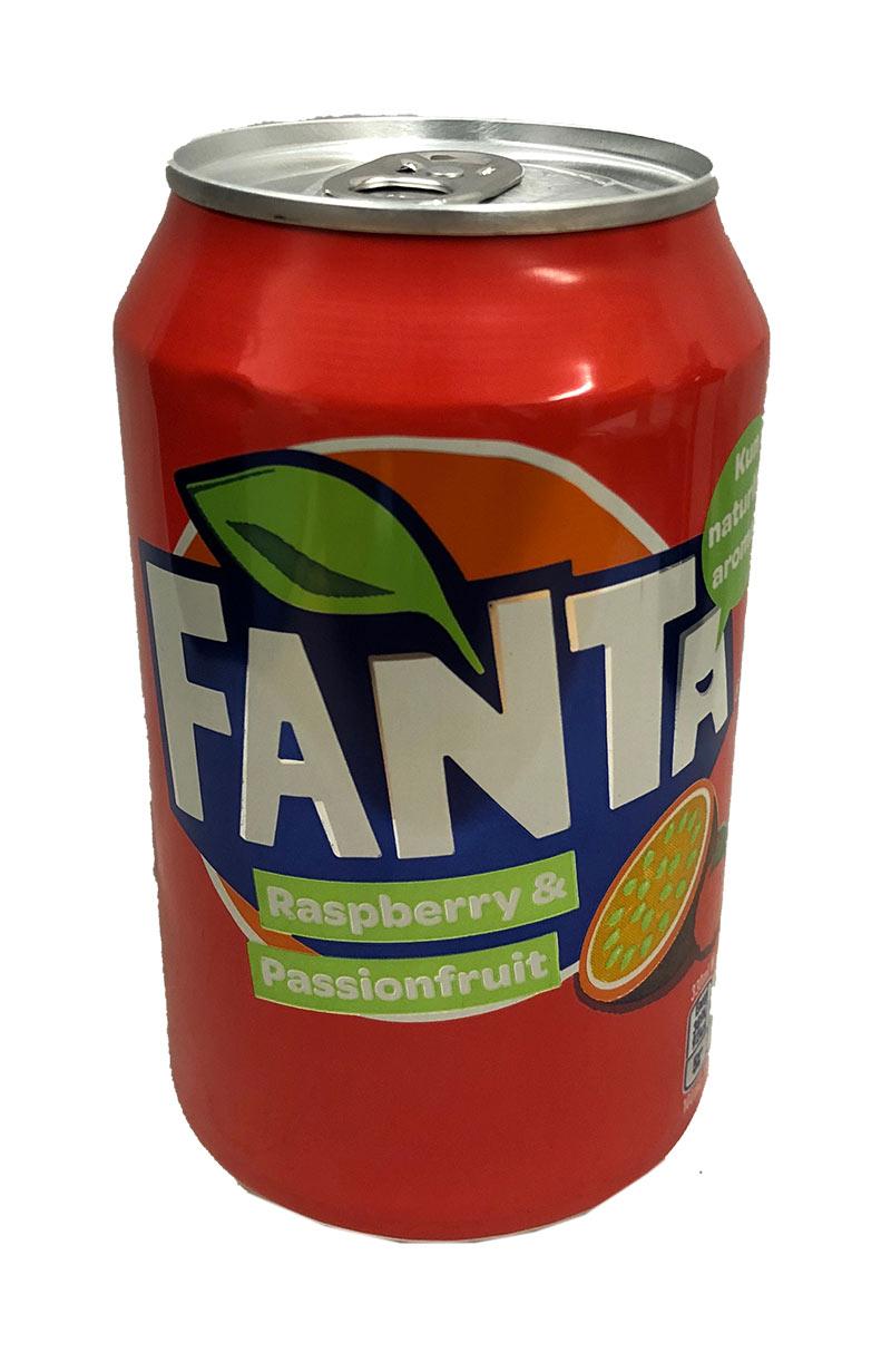 Fanta Raspberry & Passionfruit (zzgl. 0,25 EUR Pfand)