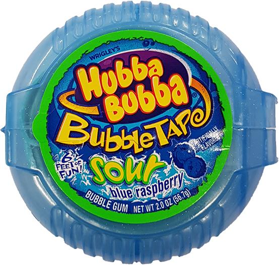 Hubba Bubba Sour Blue Raspberry (56,7g)