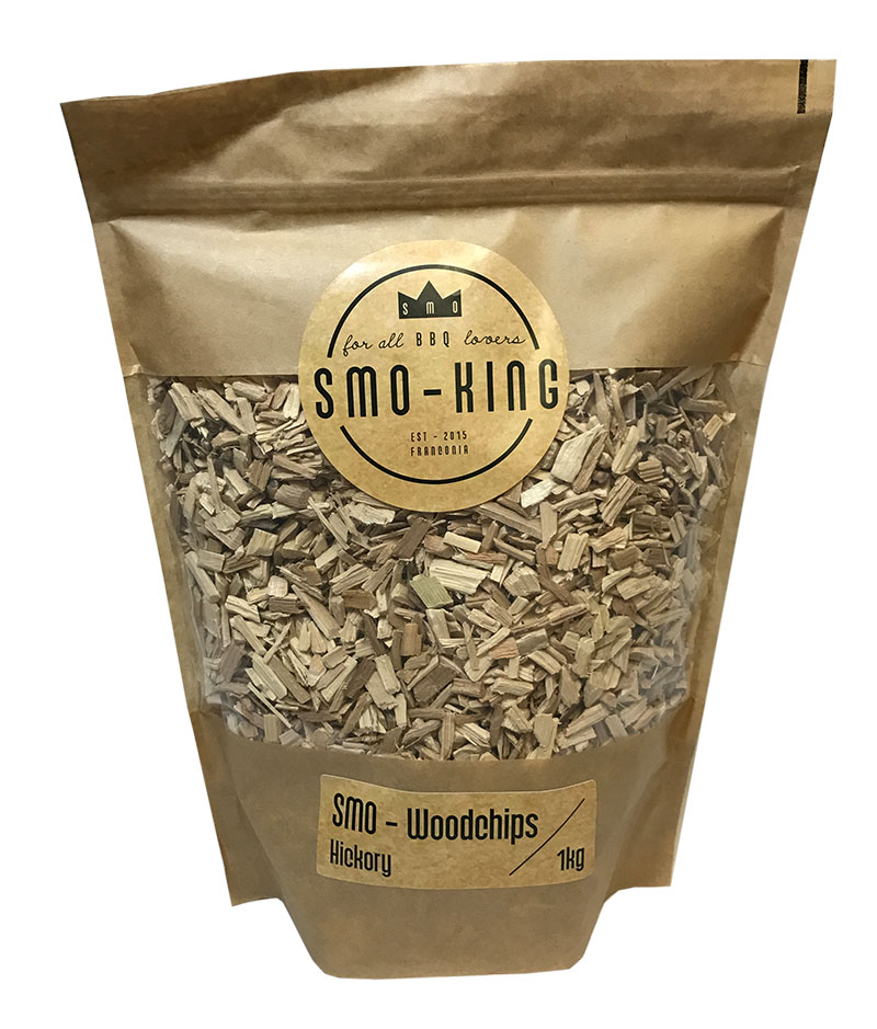 Smo-King Woodchips Hickory 1kg
