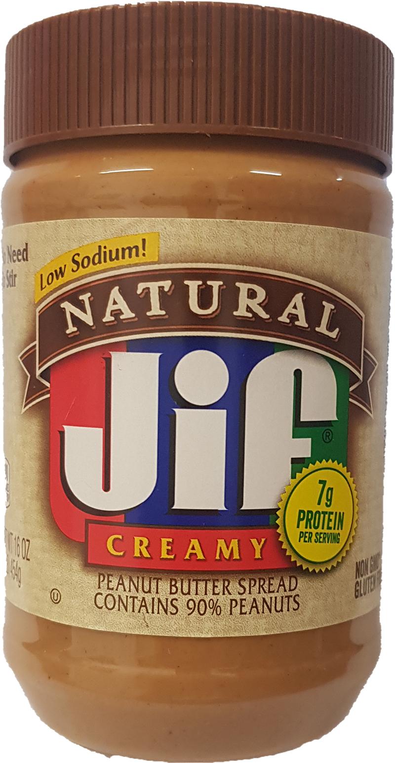 JIF Natural Creamy 454g