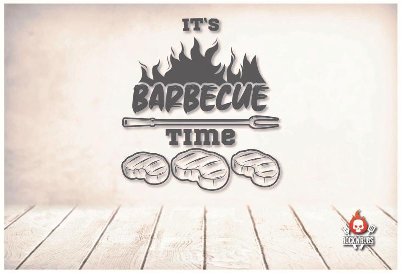 """Blechschild """"BBQ Time"""""""