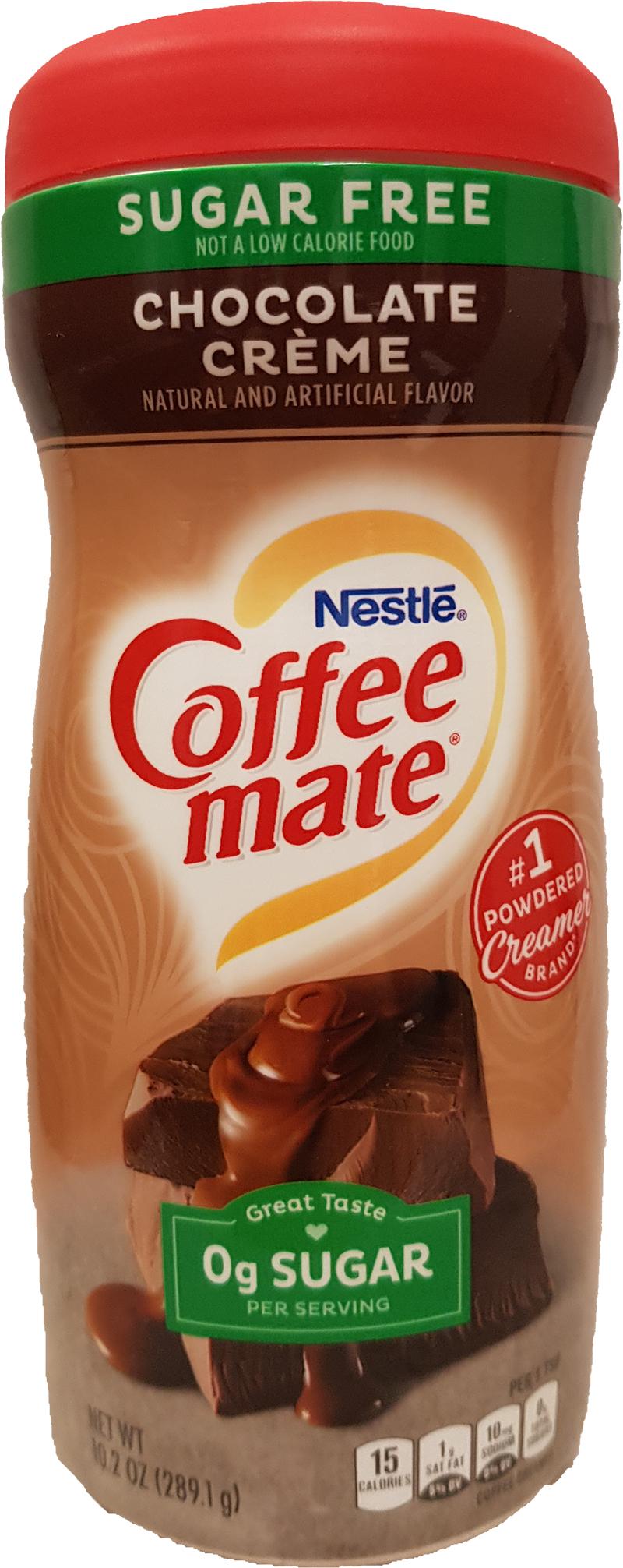 Nestle Coffeemate Chocolate Creme sugar free