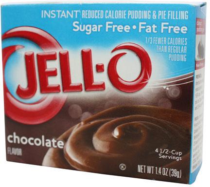 JELL-O Chocolate Sugar Free - Fat Free Schokoladenpudding