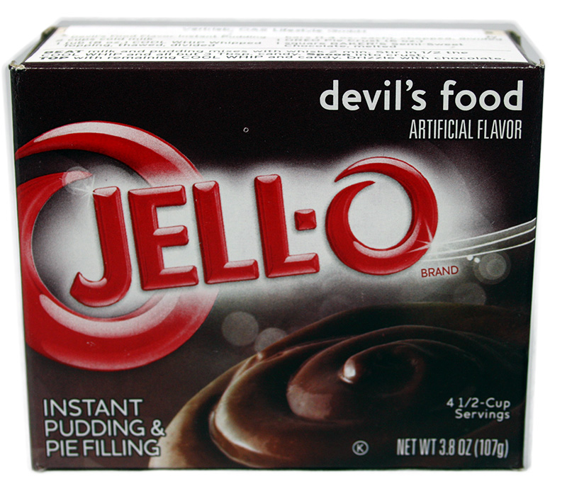 Jell-O Devil´s Food Pudding 107g