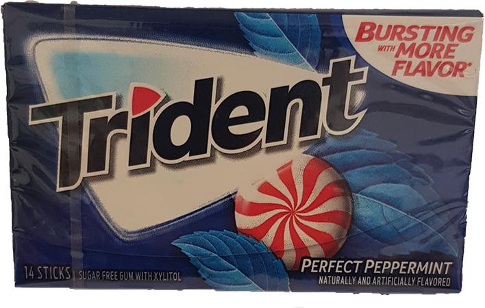 Trident Perfect Peppermint Kaugummi (MHD 12.08.2020)