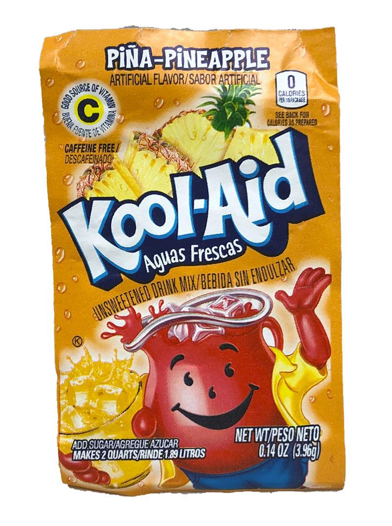 Kool Aid Instant Drink Pineappel Tüten