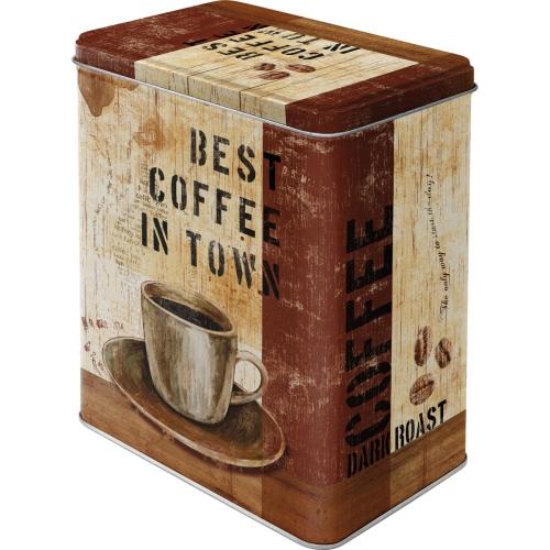 """Vorratsdose """"Best Coffee in Town"""""""