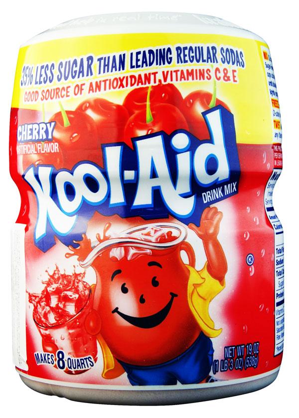 Kool Aid Barrel Cherry