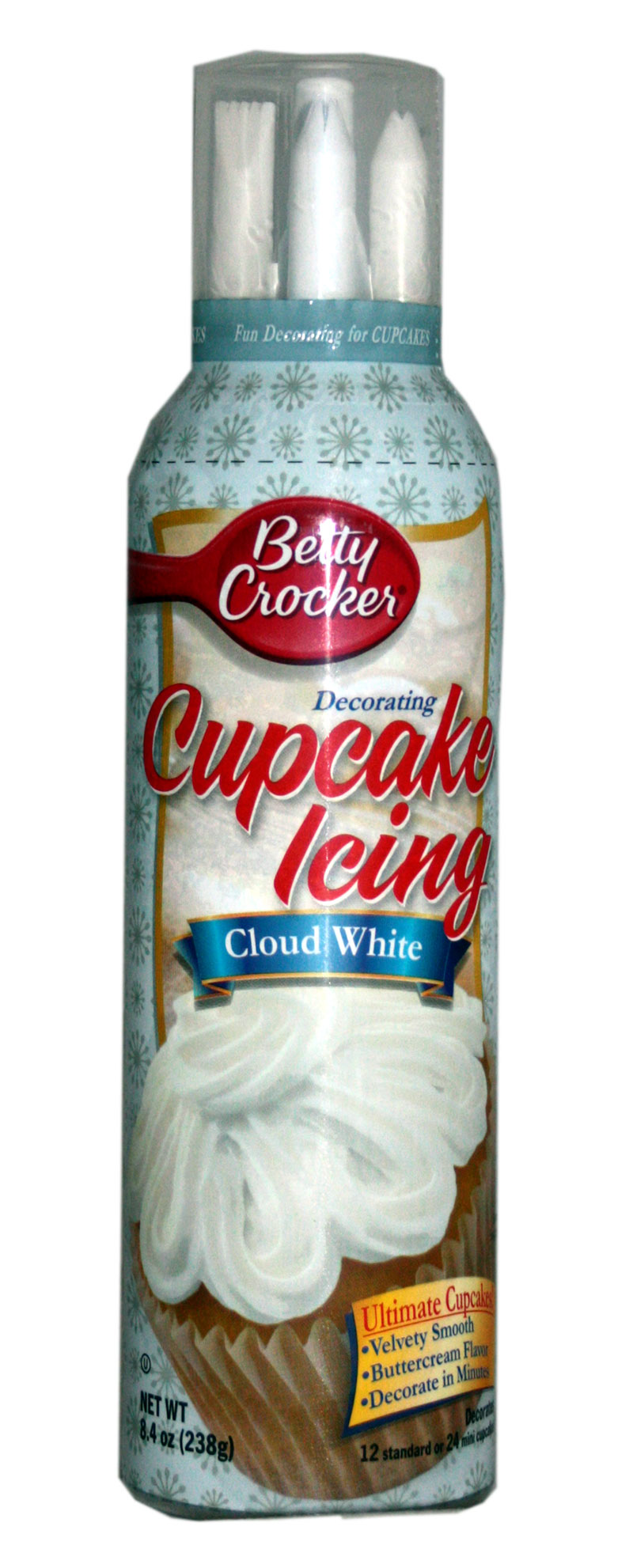 Betty Crocker Cupcake Icing Cloud White