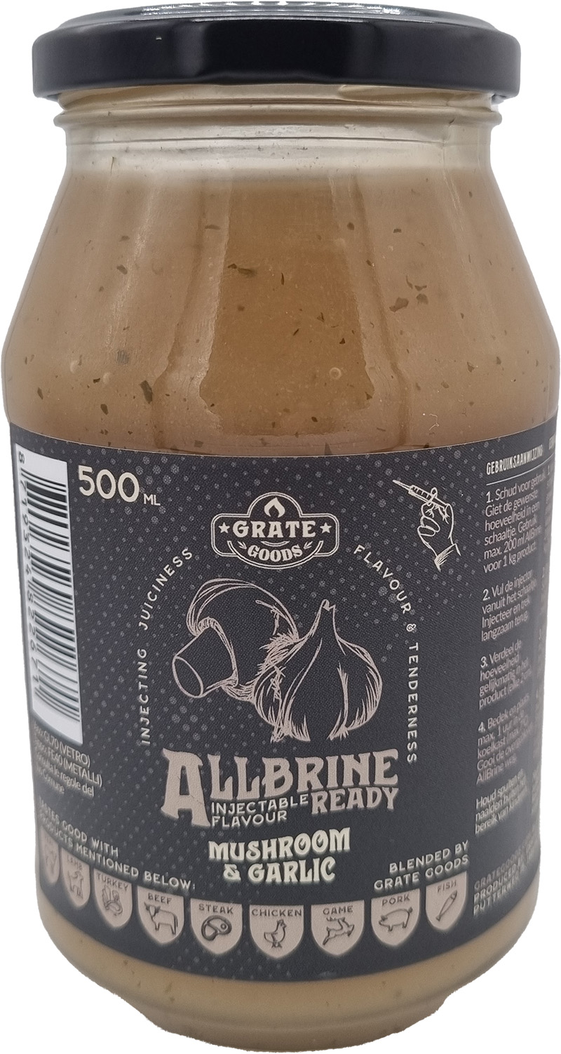 Grate Goods AllBrine Mushroom & Garlic 500ml