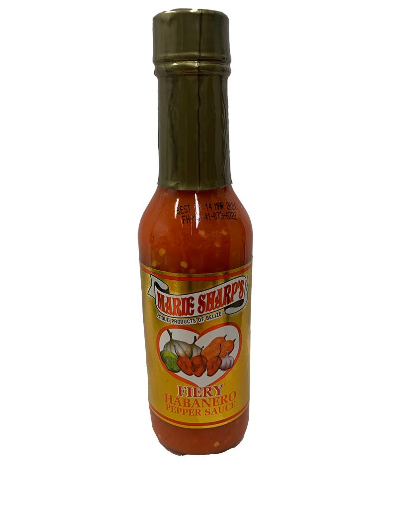 Marie Sharps Fiery Hot Habanero Sauce 148ml