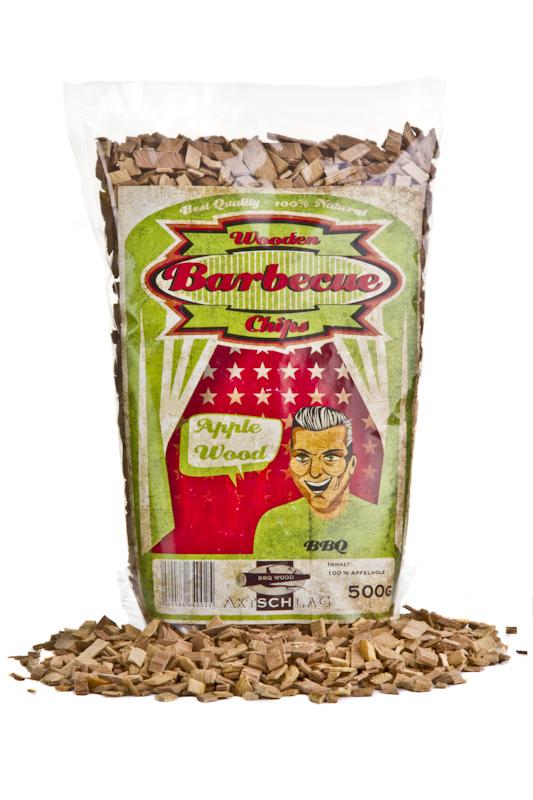 Axtschlag Räucherholz - Wood Smoking Chips - Apfel