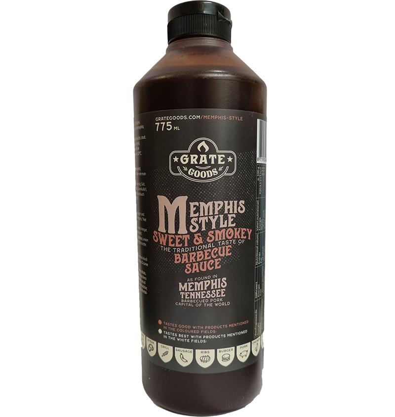 Grate Goods Memphis Sweet & Smokey BBQ Sauce 775ml